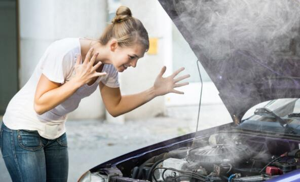 What should I do if the car overheats?
